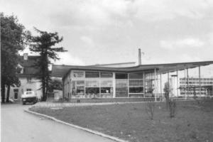 Bahnhof Allach um 1955