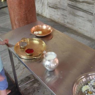 im Hindutempel